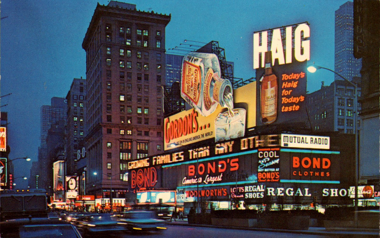 History Of Times Square 570 Seventh Ave